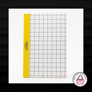NEW! RARE KATE SPADE SATURDAY NOTEBOOK GRAPH PAPER